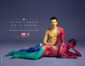 AIDS Color Of Love Euro 2016